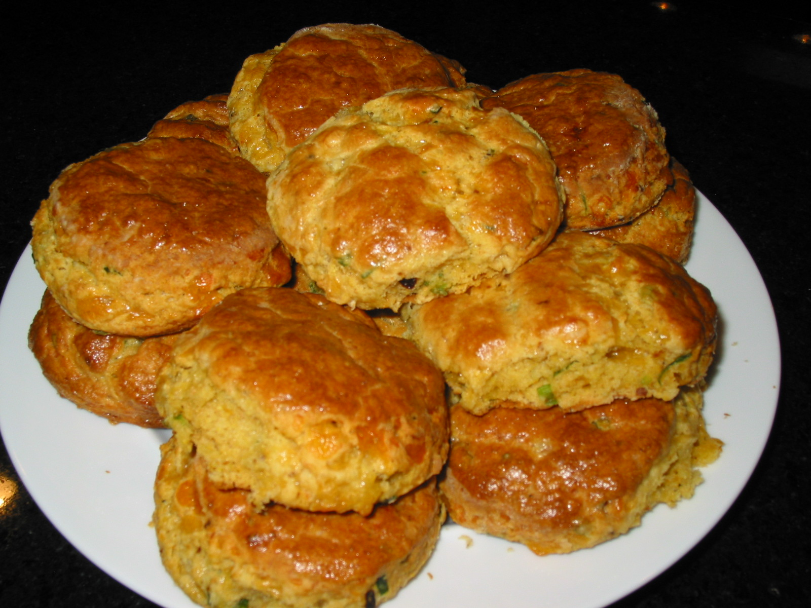 Blue Cornmeal Biscuits Recipe — Dishmaps