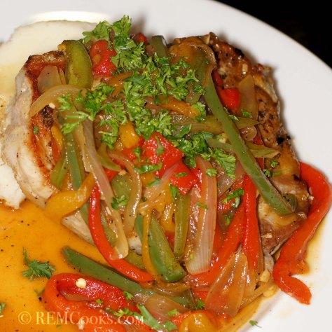 Pork Chops Scarpariello (Shoemaker-Style)