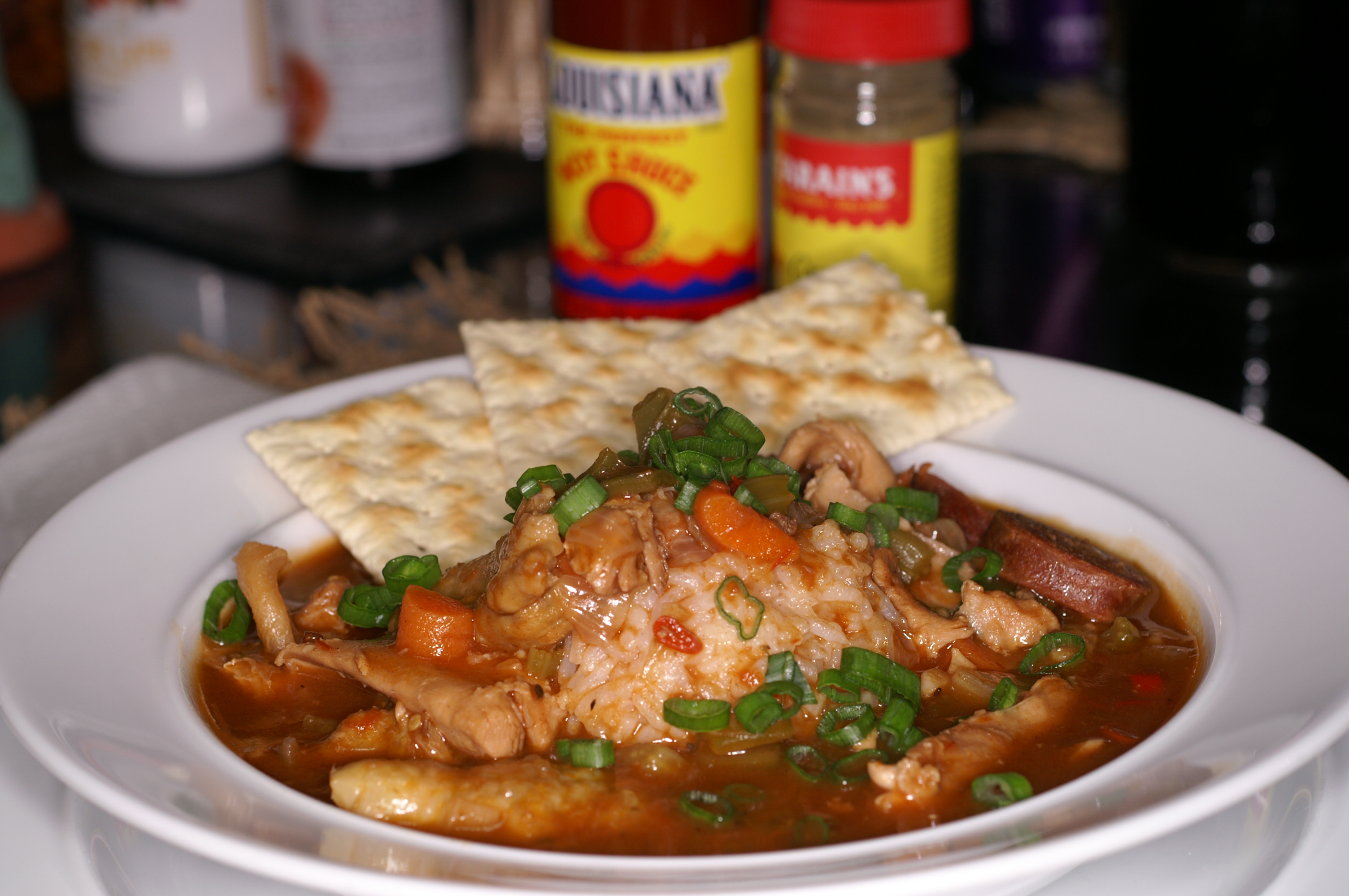 Chicken & Andouille Sausage Gumbo | REMCooks