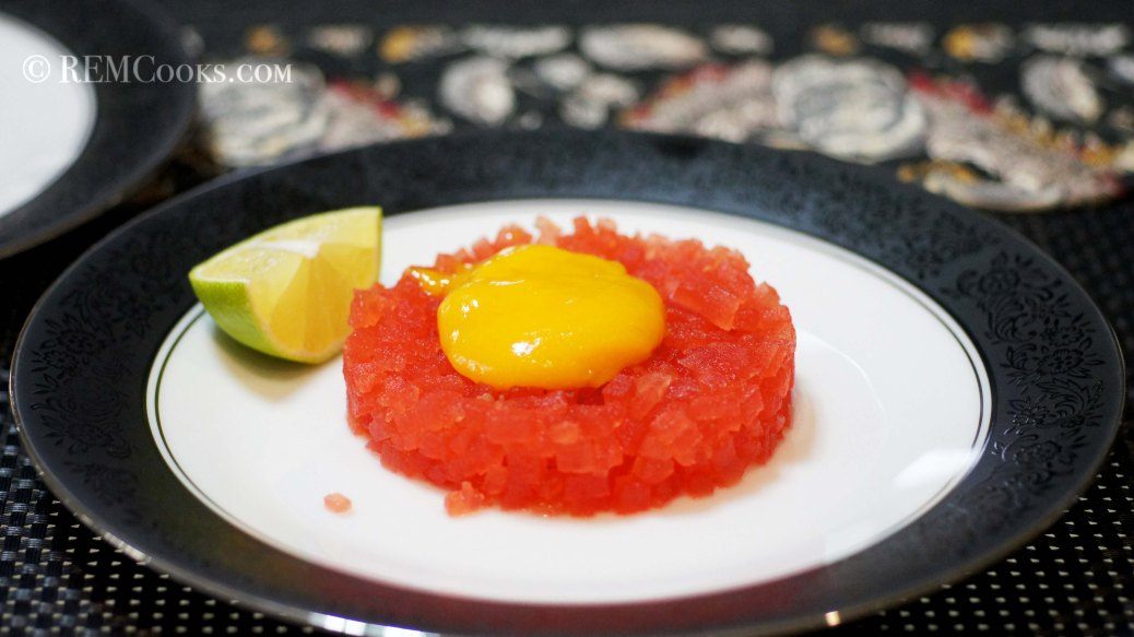 Fuax Steak Tartar