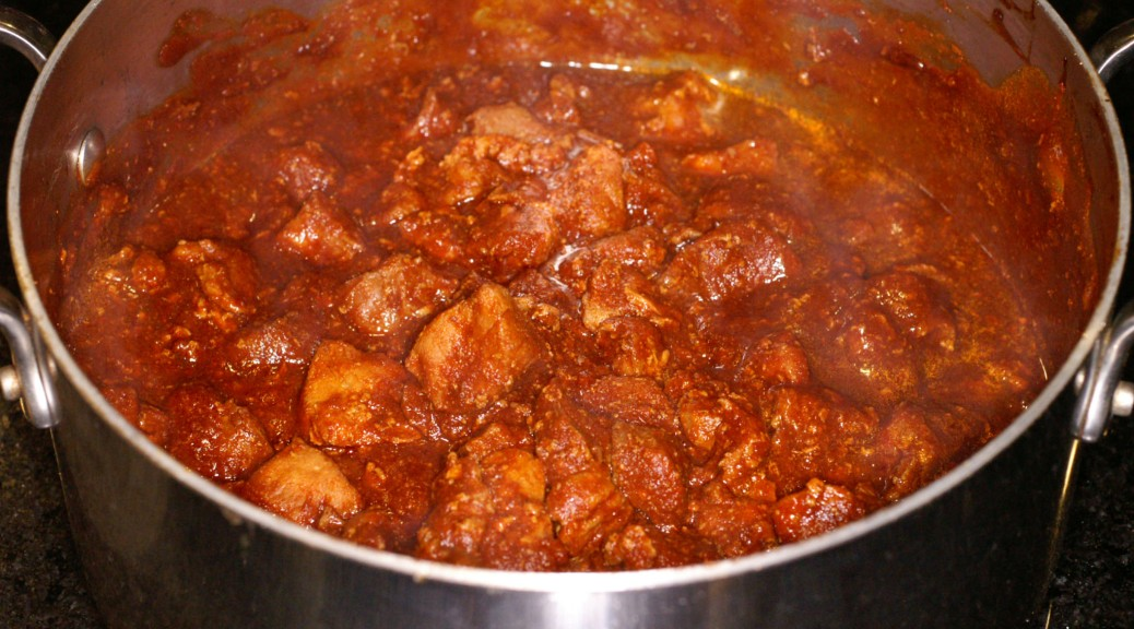 Guiso de Puerco con Chile Rojo (Red Chile Pork Stew) | REMCooks