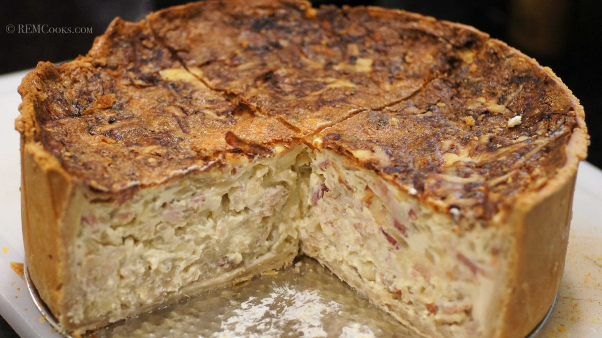Thomas Keller's Insanely Delicious Quiche Lorraine