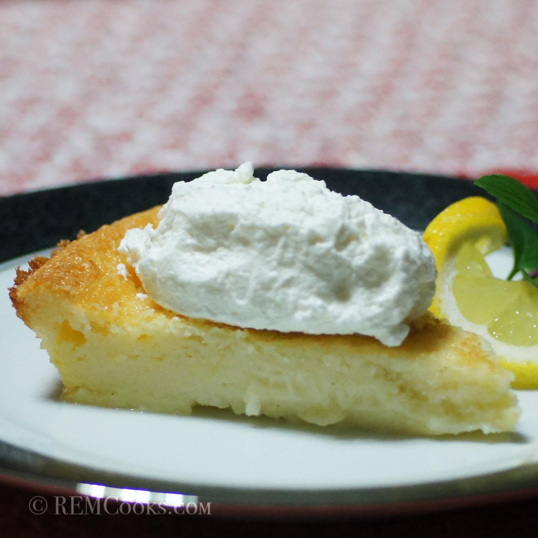 Baby Lady's Amazingly Easy Lemon Chess Pie | REMCooks