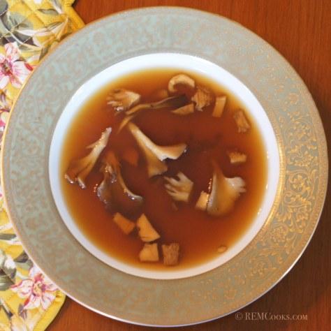 Wild Mushroom Consomme