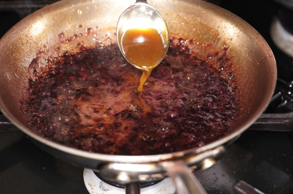 © 2012 REMCooks.com - look at how deep and rich that demi-glace is.