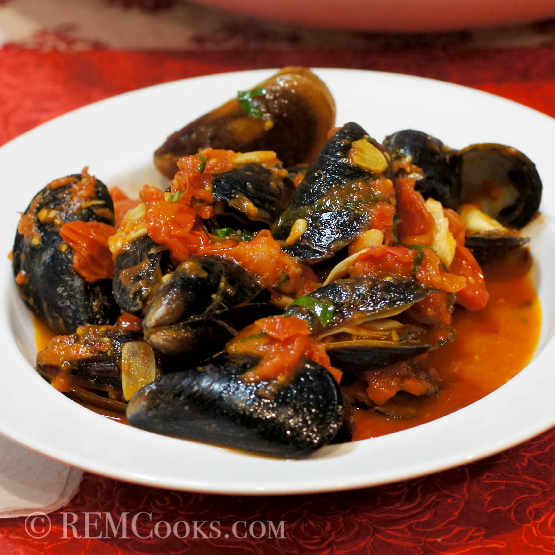 Mussels in a Spicy Tomato Sauce – REMCooks