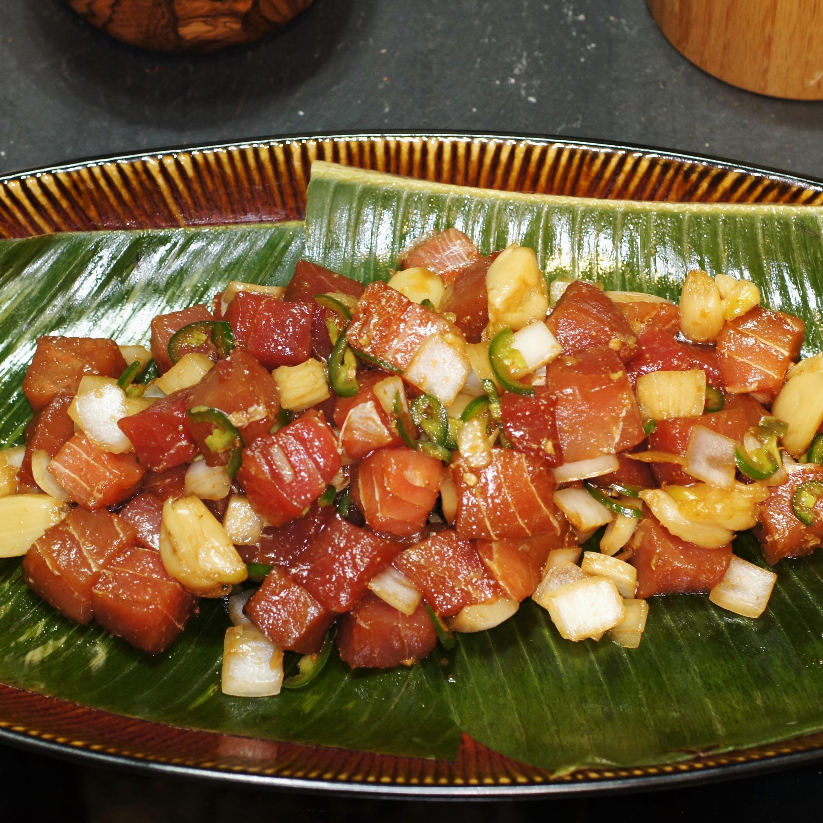 Roasted Garlic Ahi Poke | REMCooks