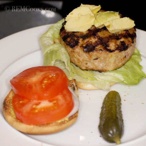 Chihuahua Cheese Stuffed Porcine Chipotle Burgers