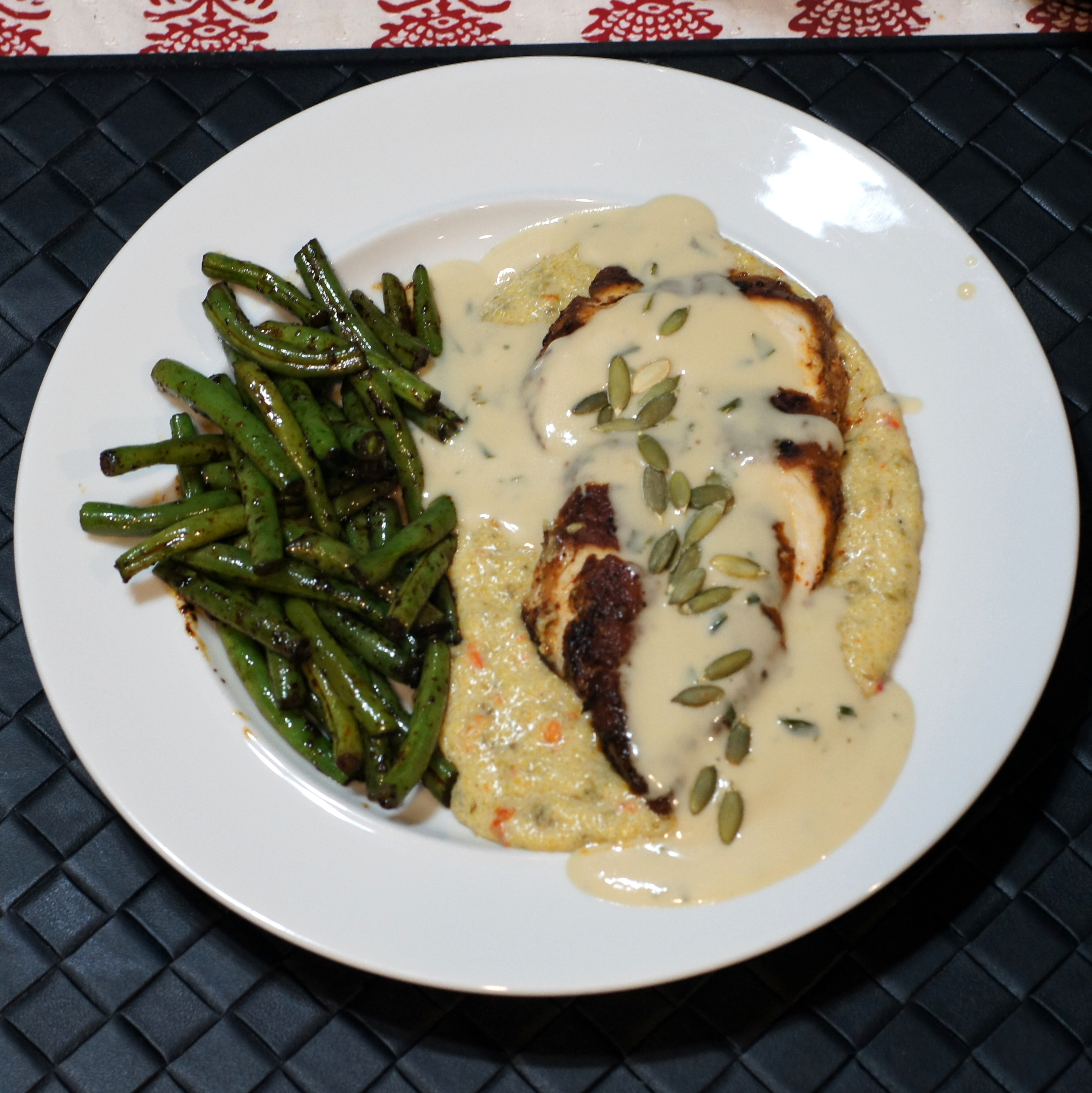Creamy Cheesy Grits With Green Chiles Recipes — Dishmaps