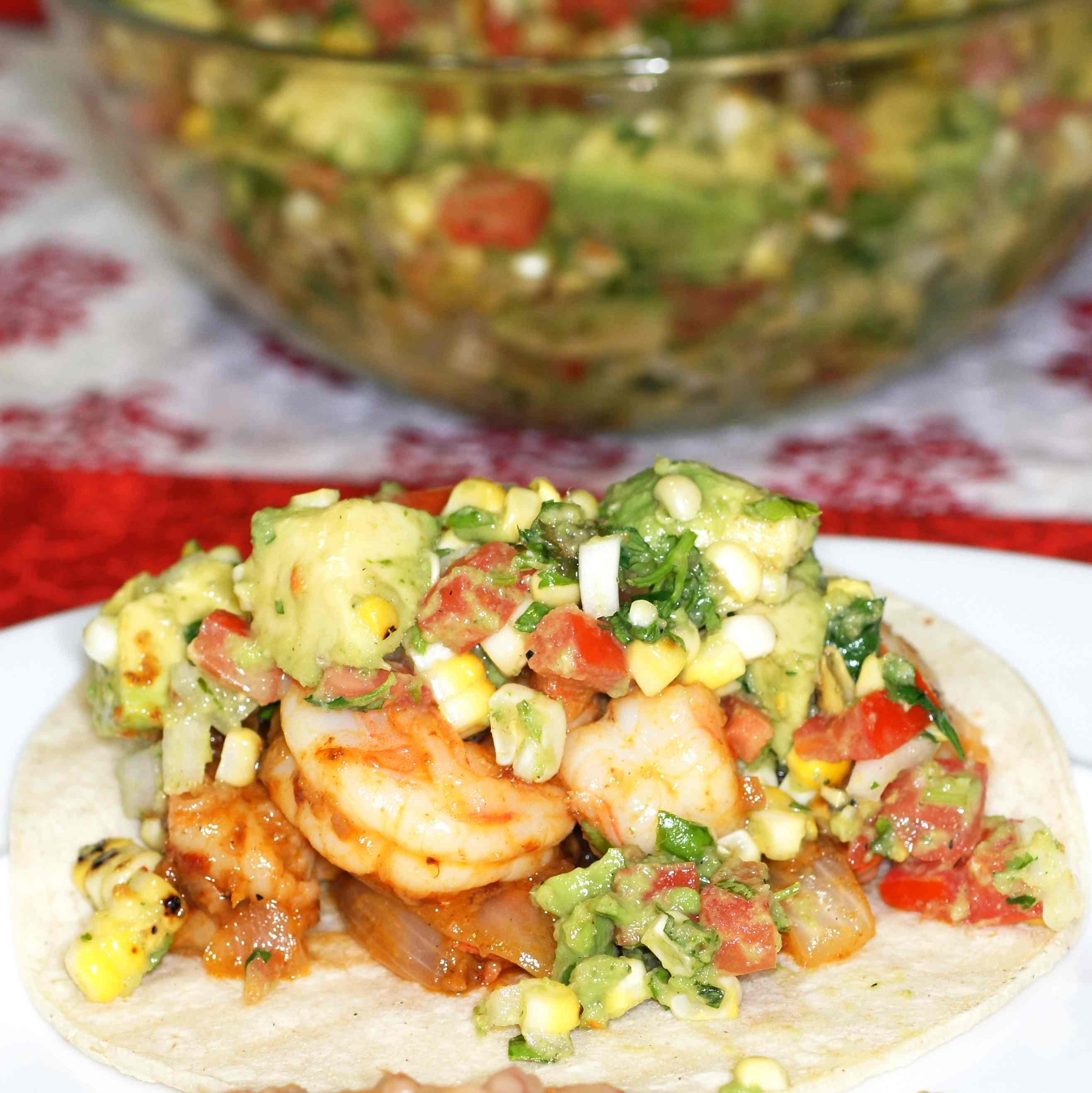 Camarones En Salsa (Shrimp In Salsa) Recipes — Dishmaps