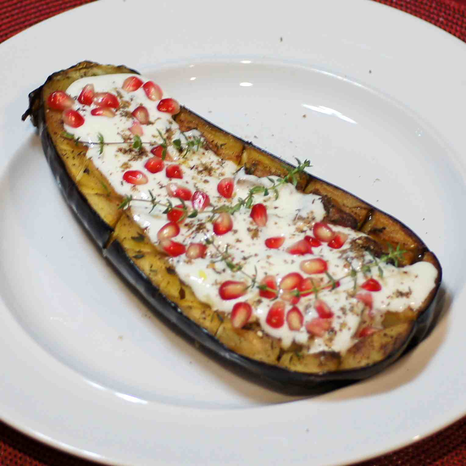 Eggplant with Buttermilk sauce | REMCooks