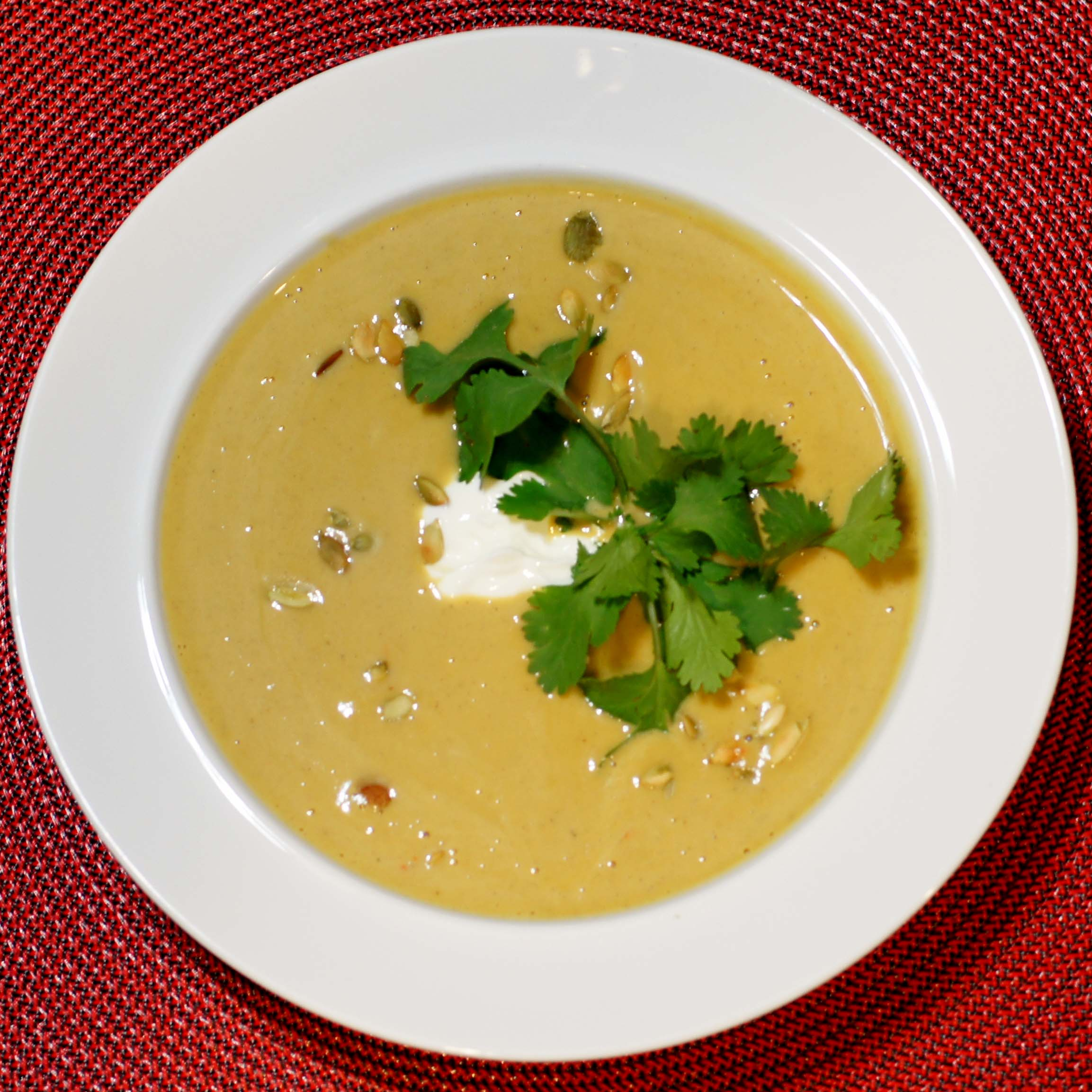 Delicious Pumpkin Soup With A Caribbean Flair