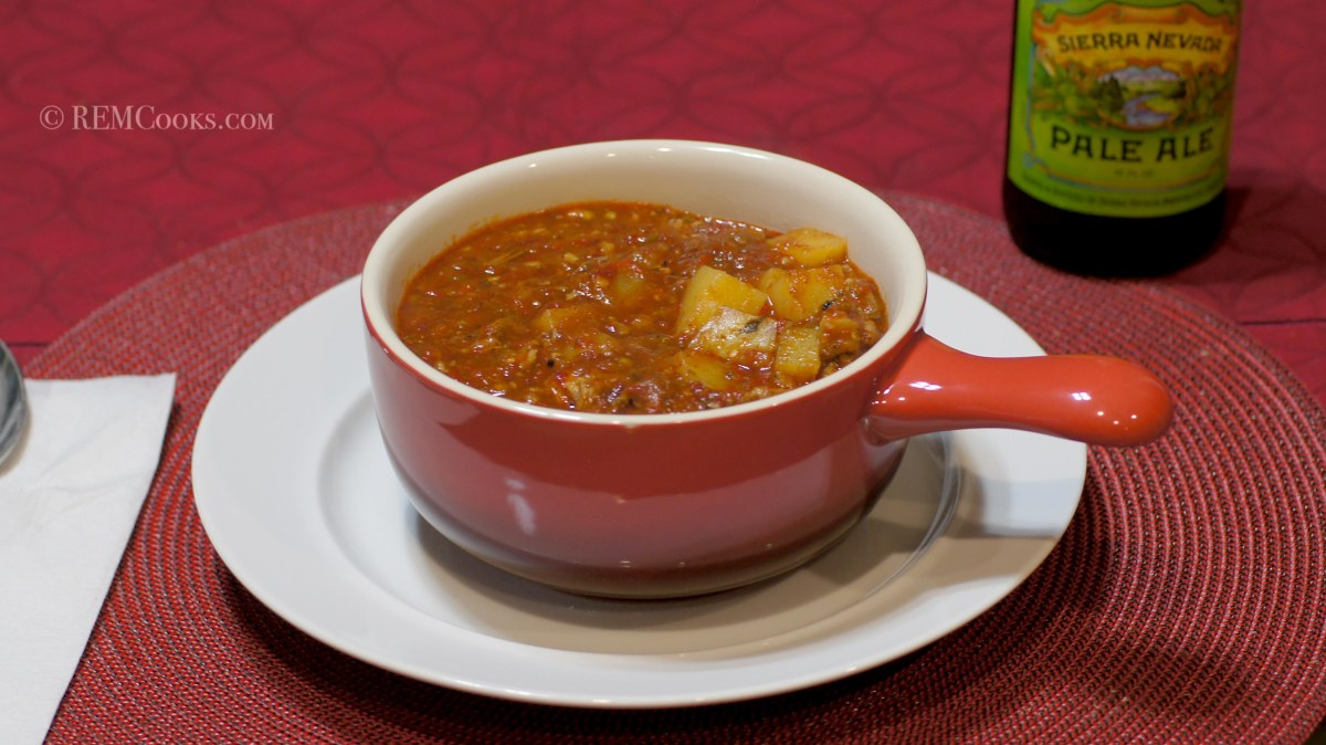 Roasted New Mexico Red Chile Stew