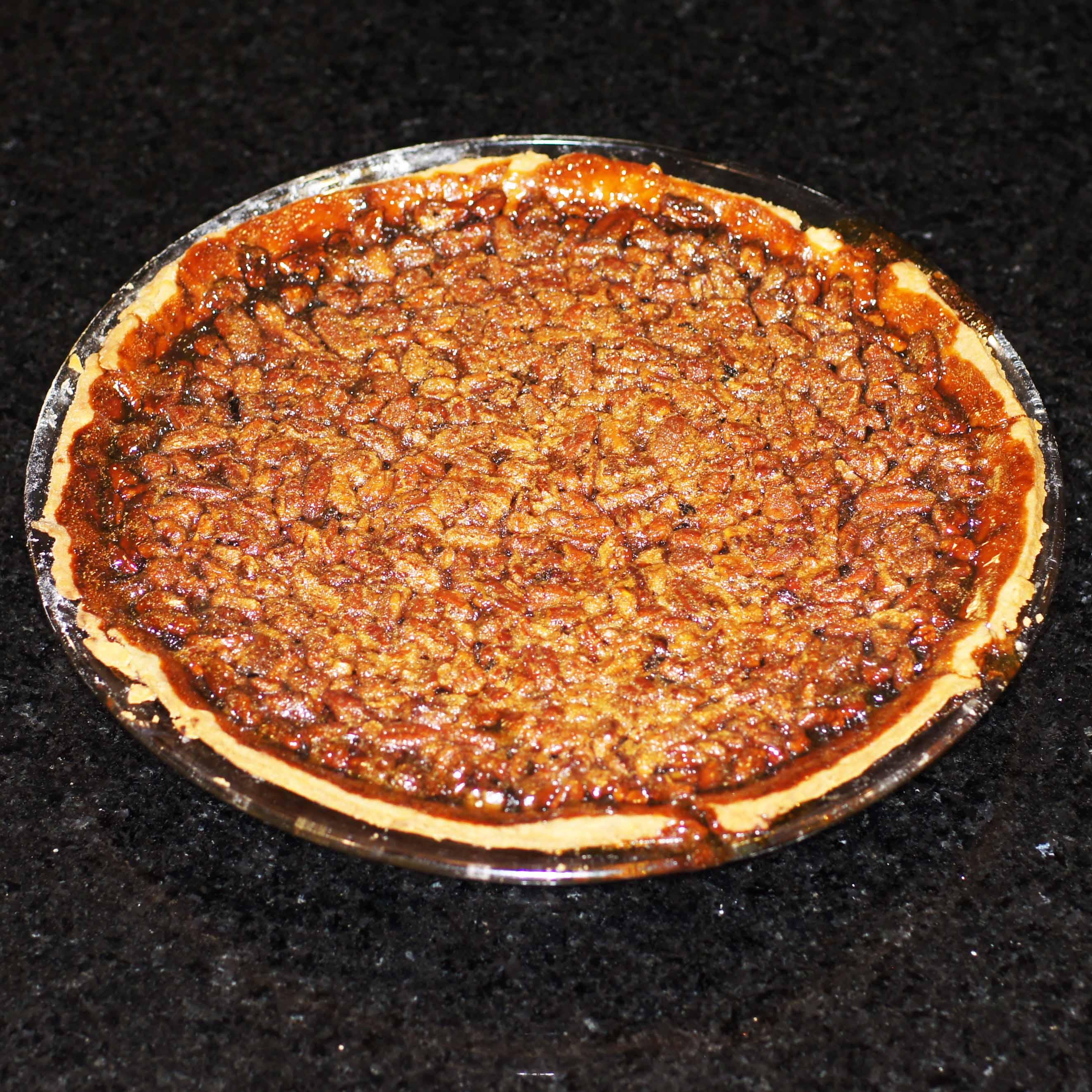 Bourbon Pumpkin Pecan Pie   REMCooks