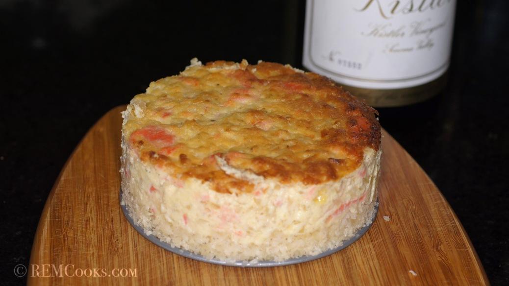 Gravlax Cheesecake