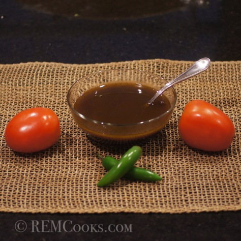 Roasted Serrano & Garlic Balsamic Vinaigrette