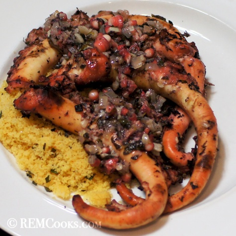 Octopus Sous Vide Greek Style